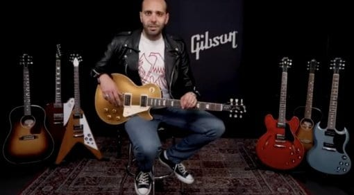Gibson Play Authentic video featuring Mark Agnesi