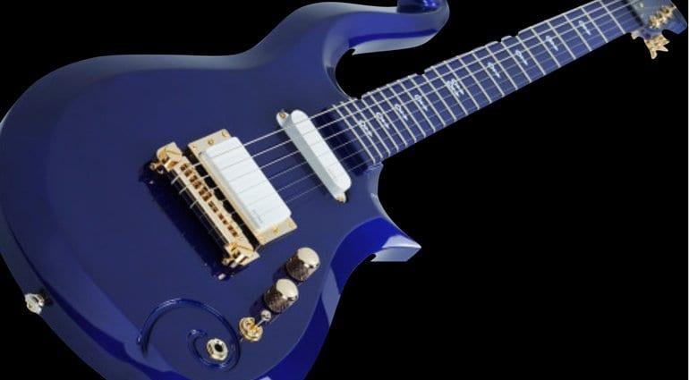Schecter Prince Cloud Guitar in Blue