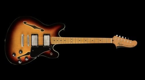 Squier Classic Vibe Starcaster Burst leaked!