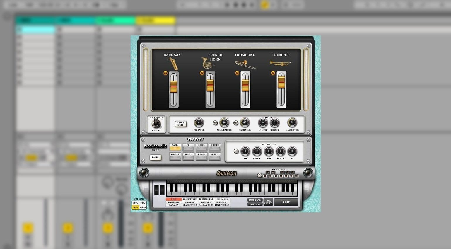 Best free plug-ins this week: brass synth, guitar amps and more