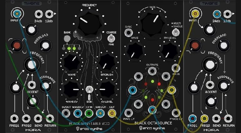 Erica Synths VCV Rack modules