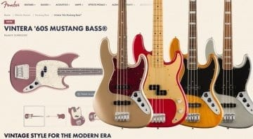 Fender Vintera Series leaked