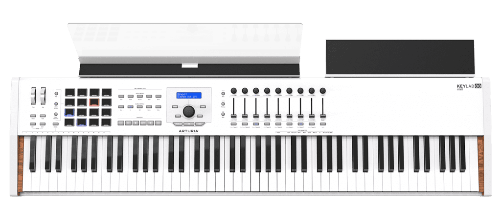 Arturia releases updated Keylab 88 mkII with CV/Gate outputs