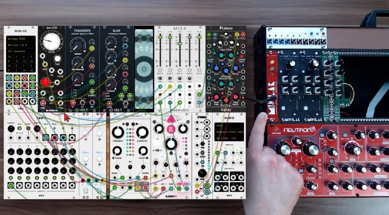 Midilar with VCV Rack