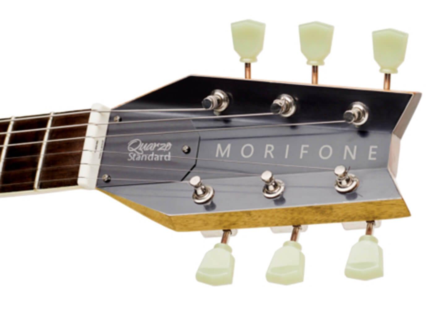 Morifone Guitars Quarzo Aileron Headstock