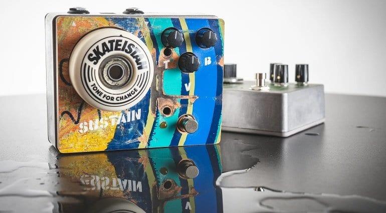 Tone For Change Skateistan Fuzz pedal