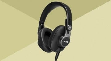 AKG K371 studio headphones
