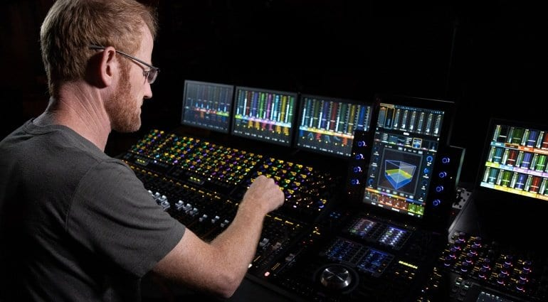 Avid S4 control surface