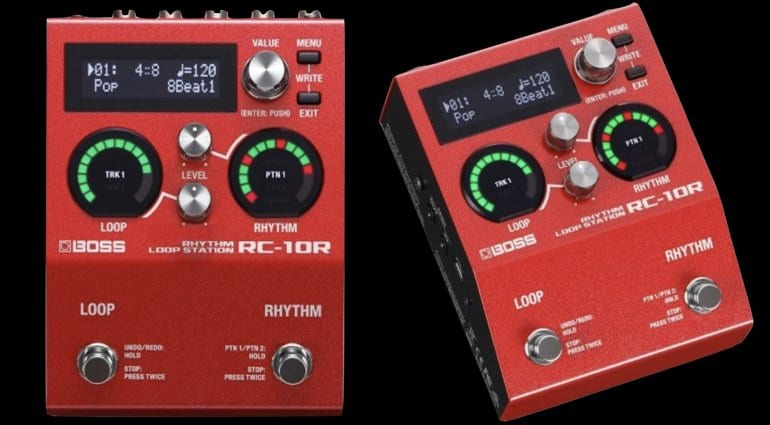 Boss RC-10R - Next Gen Looper with Rhythm Section