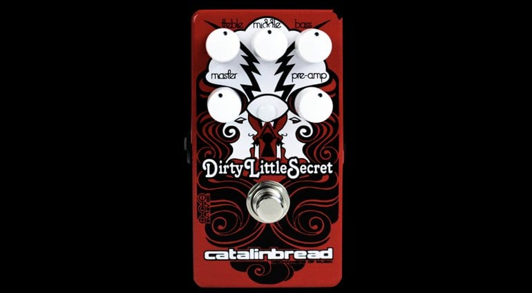 Catalinbread Limited-Edition Dirty Little Secret Red Mod