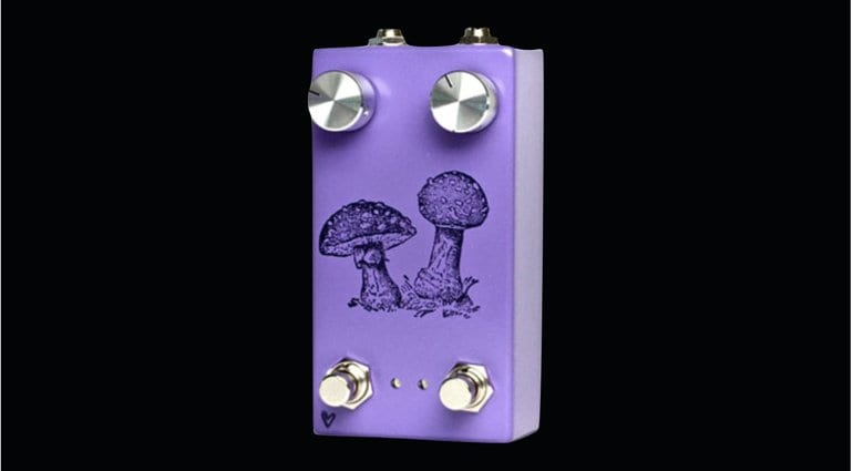 Farm Pedals - Fly Agaric. A four-stage phaser with twin LFOs