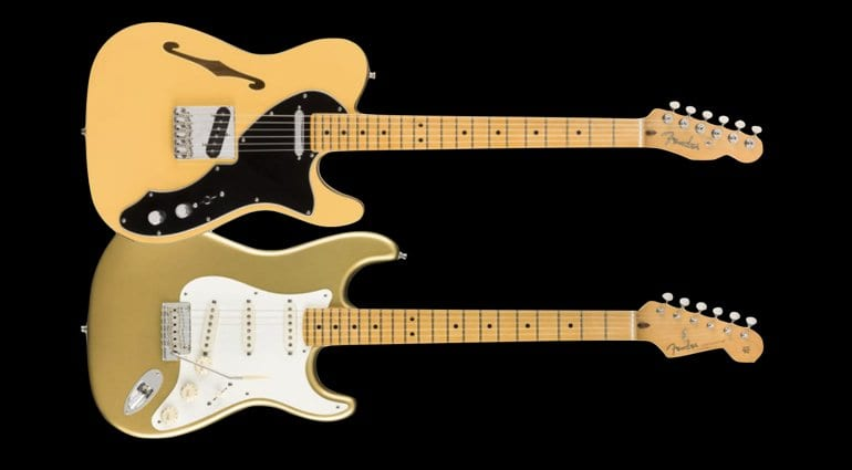 Fender Britt Daniel and Lincoln Brewster signature models