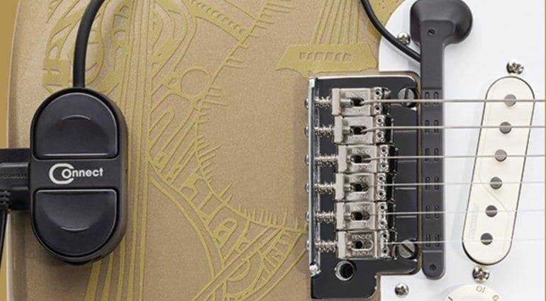 Fishman TriplePlay MIDI controller closeup