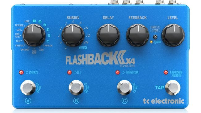 TC Electronic Flashback 2 X4 Delay MASH