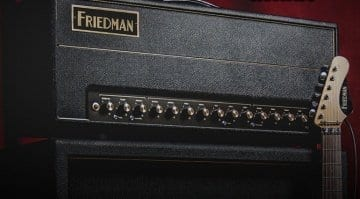 Friedman BE 100 Deluxe 100 watt amp head