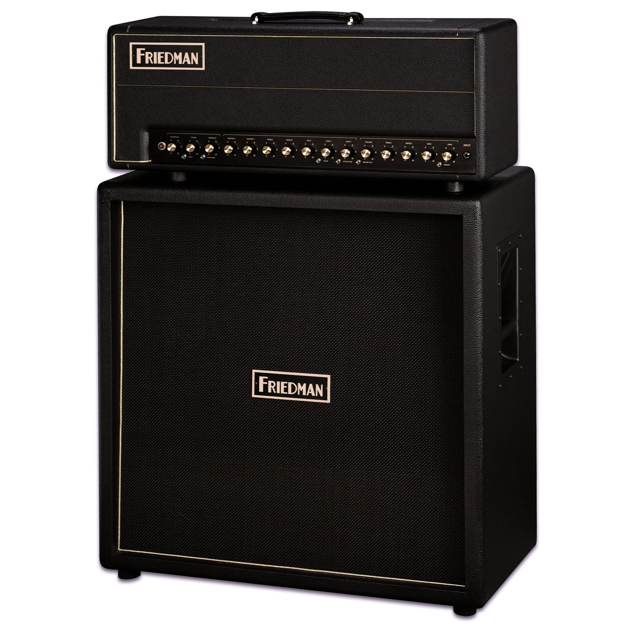 Friedman BE 100 Deluxe and matching 4x12