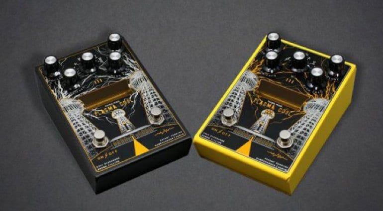 Gamechanger Audio Third Man Records Plasma Coil with limited edition yellow version