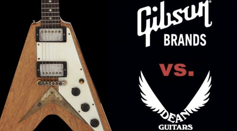 Gibson allegedly threatening dealers that are selling Dean Guitars