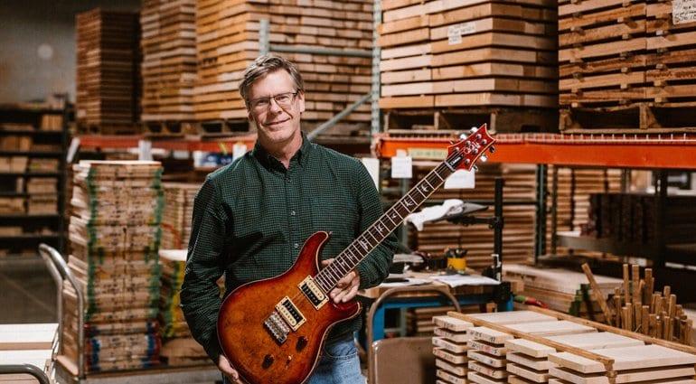 PRS Jack Higginbotham PRS SE Factory Tour