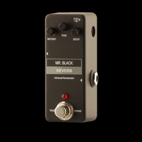 Mr Black Mini Reverb pedal