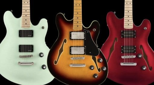 Summer NAMM 2019- Squier Starcaster models now official
