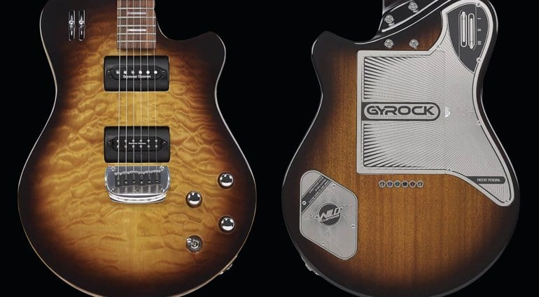 Check out Wild Custom's crazy new Gyrock revolving pickup system! - gearnews.com
