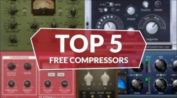 Top 5 Free Best Compressor plug-in VST AU