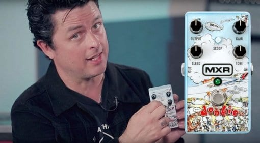 Watch Billie Joe Armstrong demo the new MXR Dookie Drive pedal