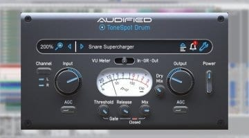 Audified ToneSpot Drum Express