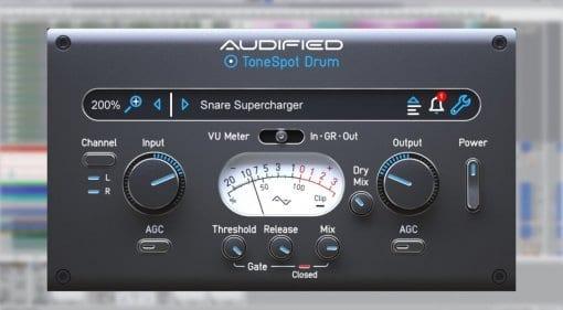 Audified ToneSpot Drum Express