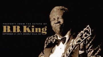 BB King Lucille Auction