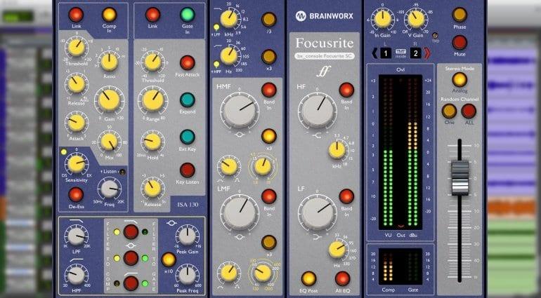 brainworx focusrite sc console plug-in