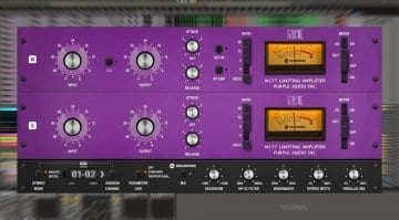 Brainworx Purple Audio MC77