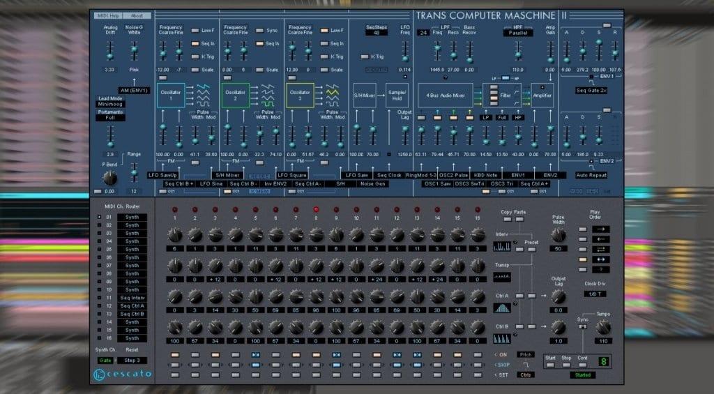 Ceskato Musiktechnologie Trans Computer Maschine