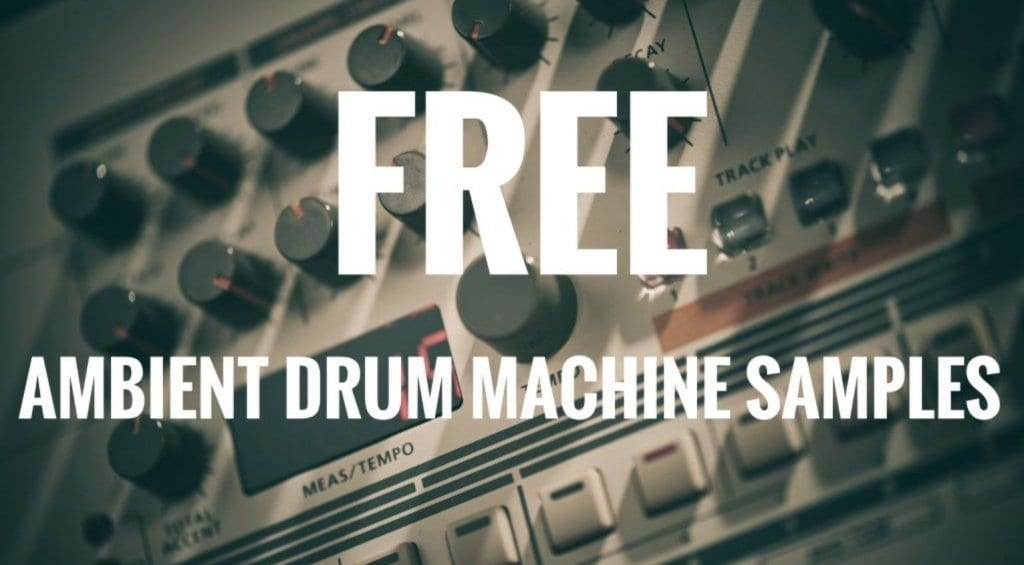 Computer Music Ambient Drum Machine Samples