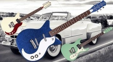 Danelectro launches three new models for 60th Anniversary year