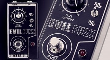 Only 200 pieces worldwide! Death By Audio Evil Fuzz