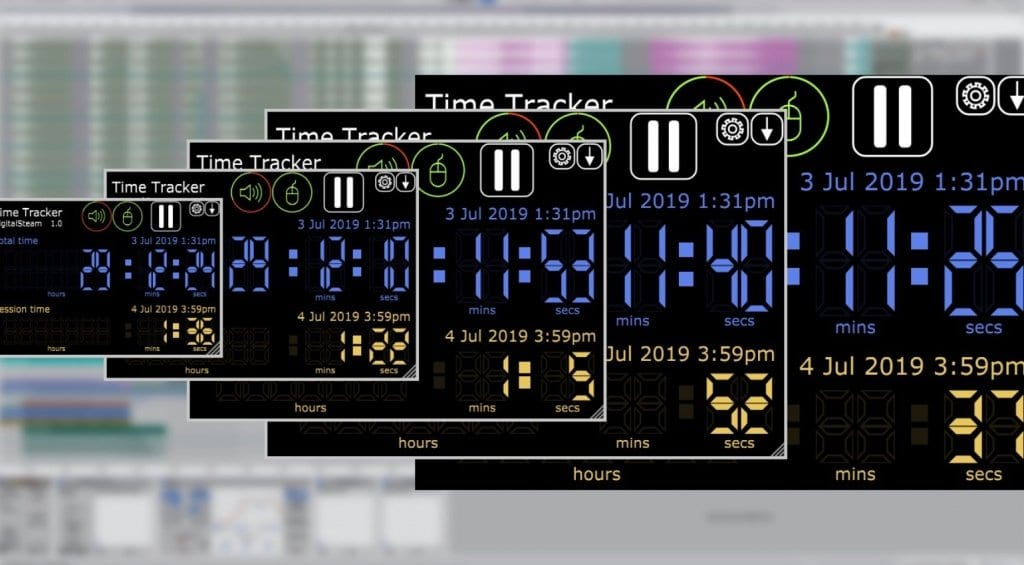 Digital Steam Time Tracker