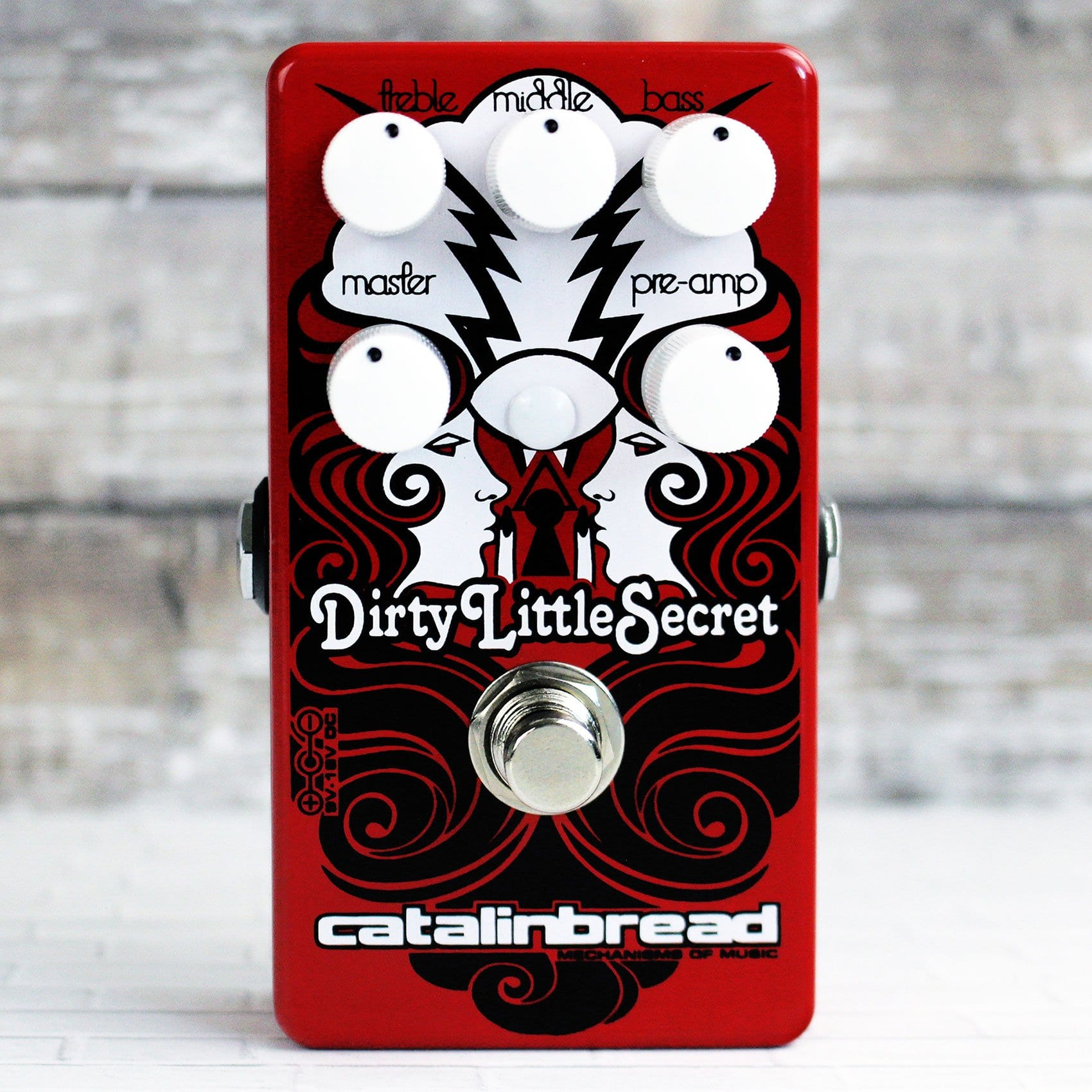 Catalinbread Limited-Edition Dirty Little Secret Red Mod front
