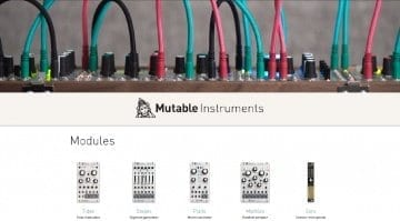 Mutable Instruments website