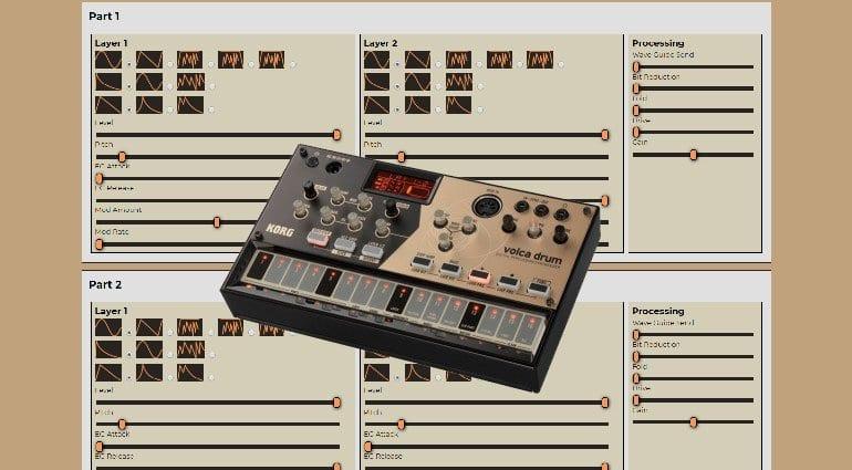Oscillator Synthmata Volca Drum