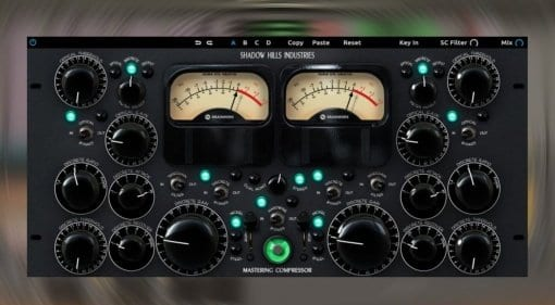 Plugin Alliance Shadow Hills Mastering Compressor
