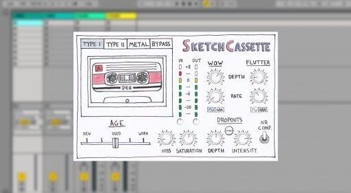 sketch cassette plugin