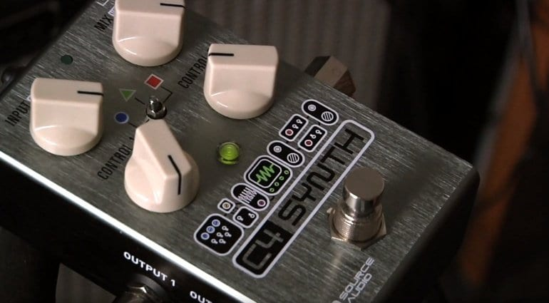 Source Audio C4 Synth pedal front