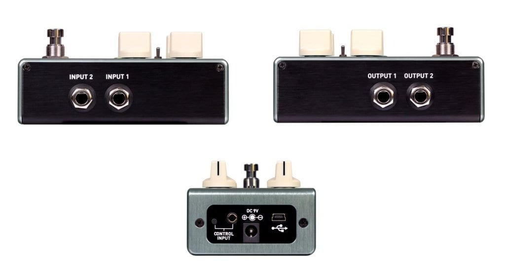 Source Audio C4 Synth pedal back and sides