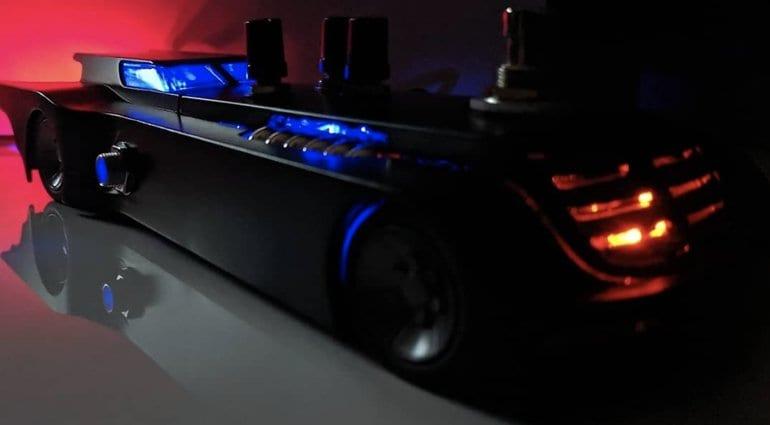 Batman Batmobile Ratmobile RAT2 distortion