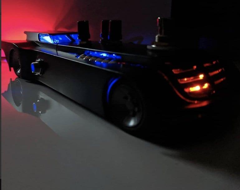 Batman Batmobile Ratmobile pedal