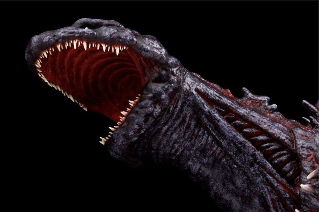 ESP limited-edition Godzilla head