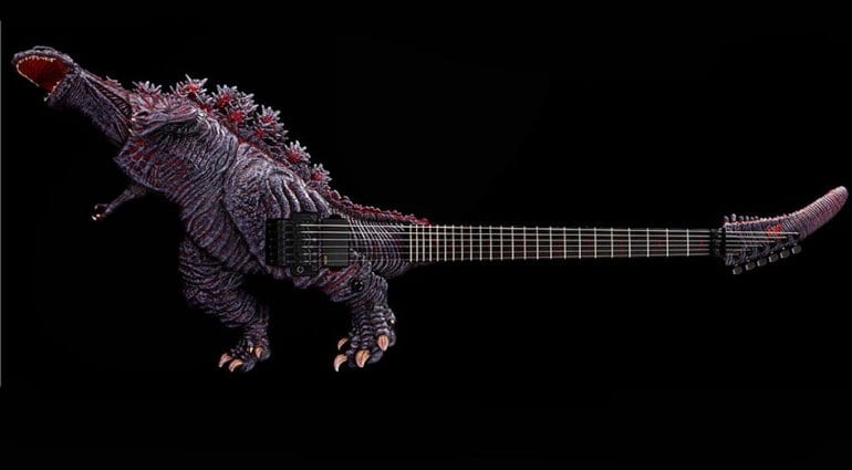 ESP limited-edition Godzilla model
