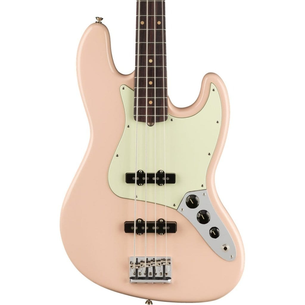 Fender American Professional Jazz Bass Ltd. Edition in Shell Pink w: Solid Rosewood Neck